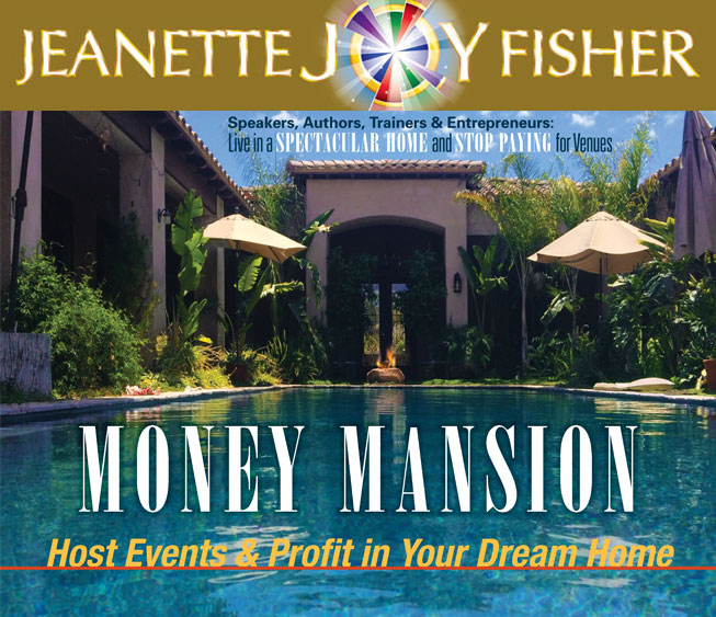 Money Mansion by Jeanette JOY Fisher