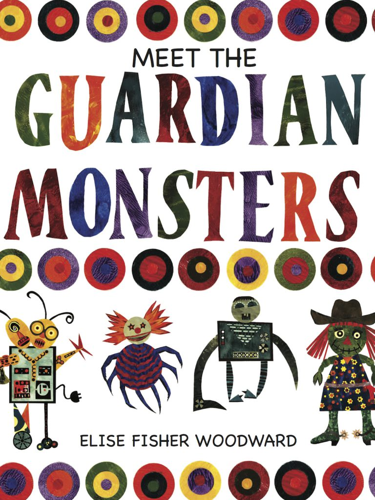 ELISE WOODWARD'S GUARDIAN MONSTERS book cover photo