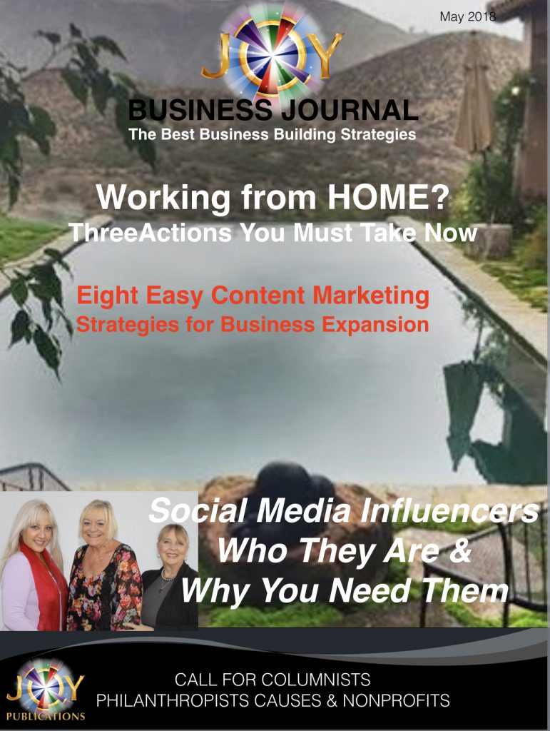 JOY BUSINESS JOURNAL COVER
